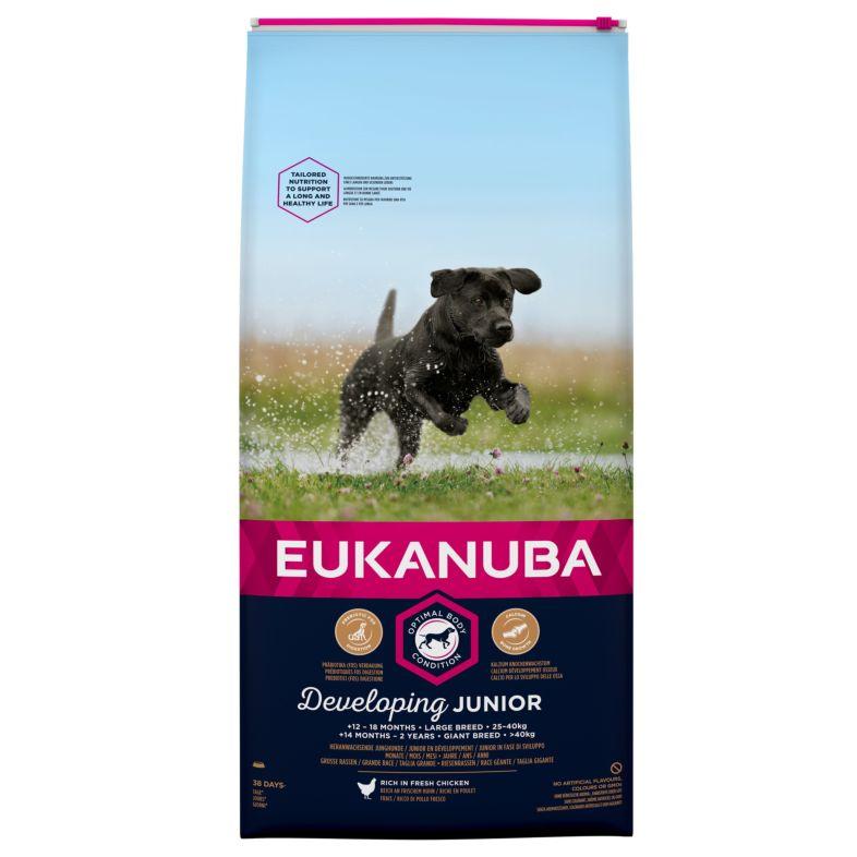 Euk Dog Junior Large 15 kg