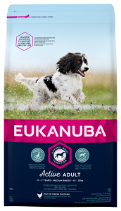 Euk Dog Adult Medium 18 kg, Breeder