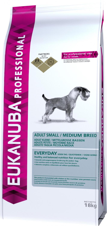 Euk Dog Ad Sm/Med Everyday 18kg