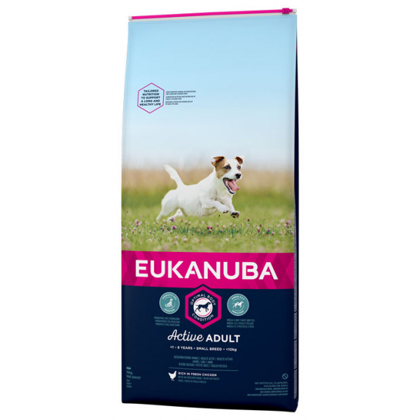 Euk Dog Ad Small Norm Act 7,5 kg