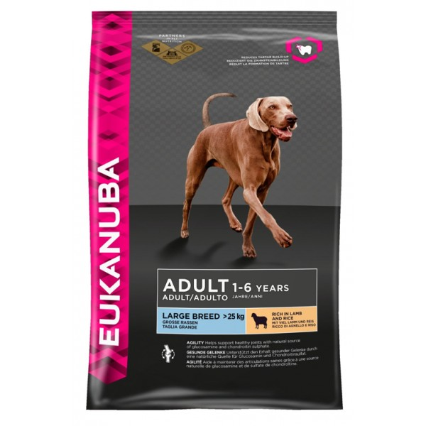 Euk Dog Ad Large Lamb & Rice 12 kg