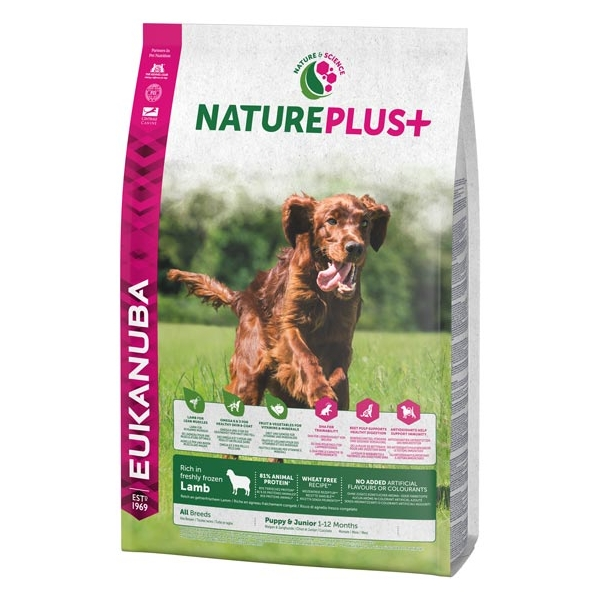 Euk Dog Nat + Pup All Br Lamb 2,3 kg