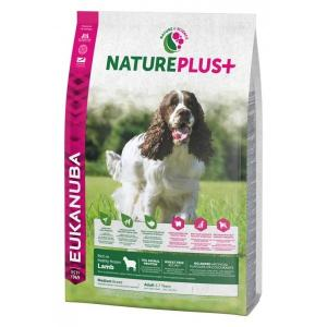 Euk Dog Nat + Ad Medium Lamb 14 kg