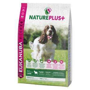 Euk Dog Nat + Ad Medium Lamb 14 kg