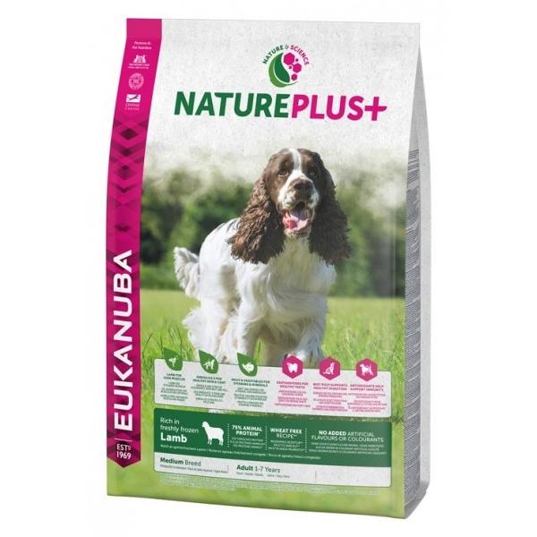 Euk Dog Nat + Ad Medium Lamb 2,3 kg