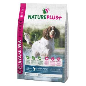 Euk Dog Nat + Ad Medium Salmon 2,3 kg