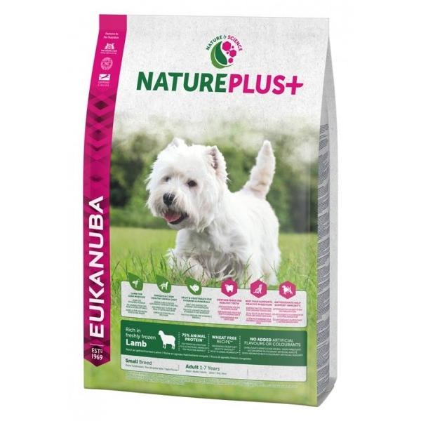 Euk Dog Nat + Ad Small Lamb 10 kg
