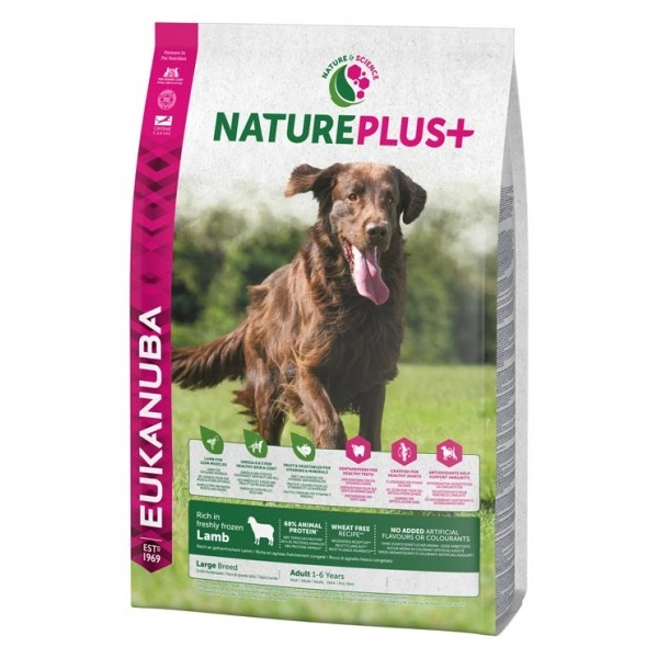 Euk Dog Nat + Ad Large Lamb 2,3 kg