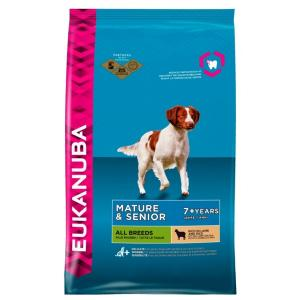 Euk Dog Mature/Senior Lamb & Rice 2,5 kg