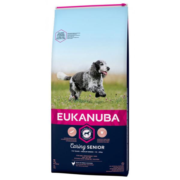 Euk Dog Senior Medium 15 kg
