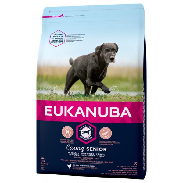 Euk Dog Senior Large 15 kg