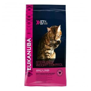 Euk Cat Sterilised/Weight Control 1,5 kg