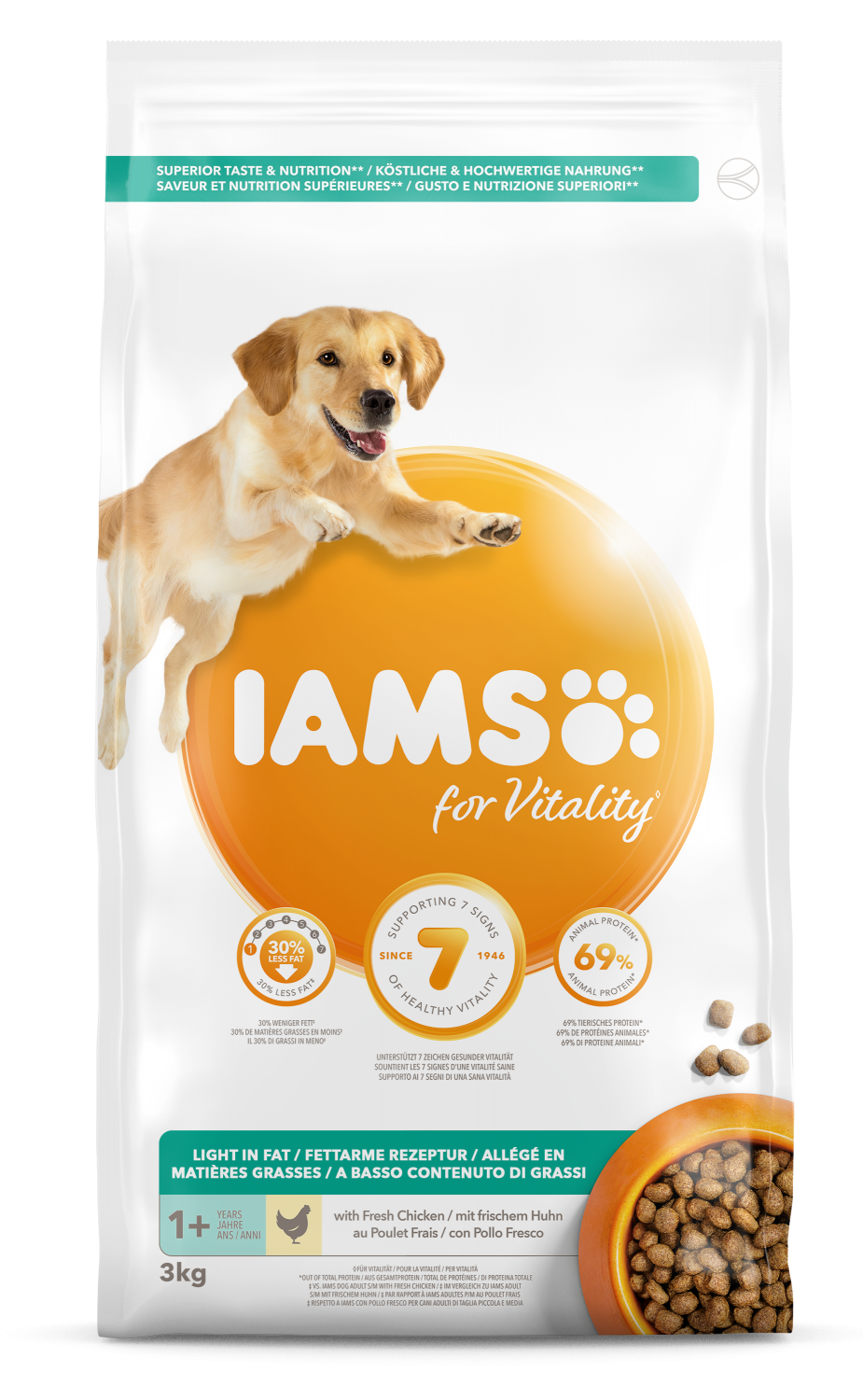 Iams Dog Adult Sterilised 3 kg