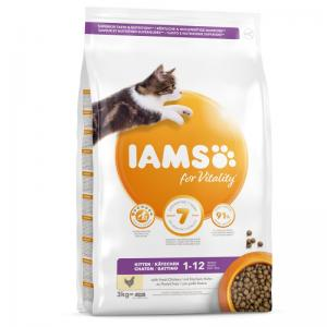 Iams Cat Kit & Jr Ckn 300 g