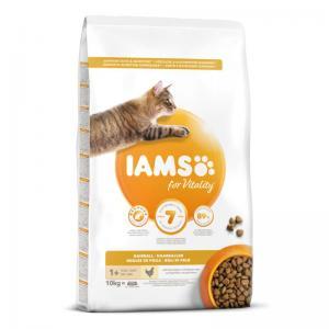 Iams Cat Ad Hairball 10 kg