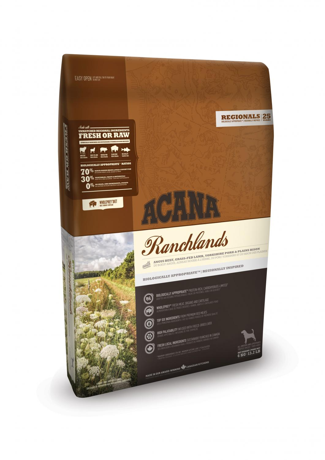 Acana Dog Ranchlands 6 kg