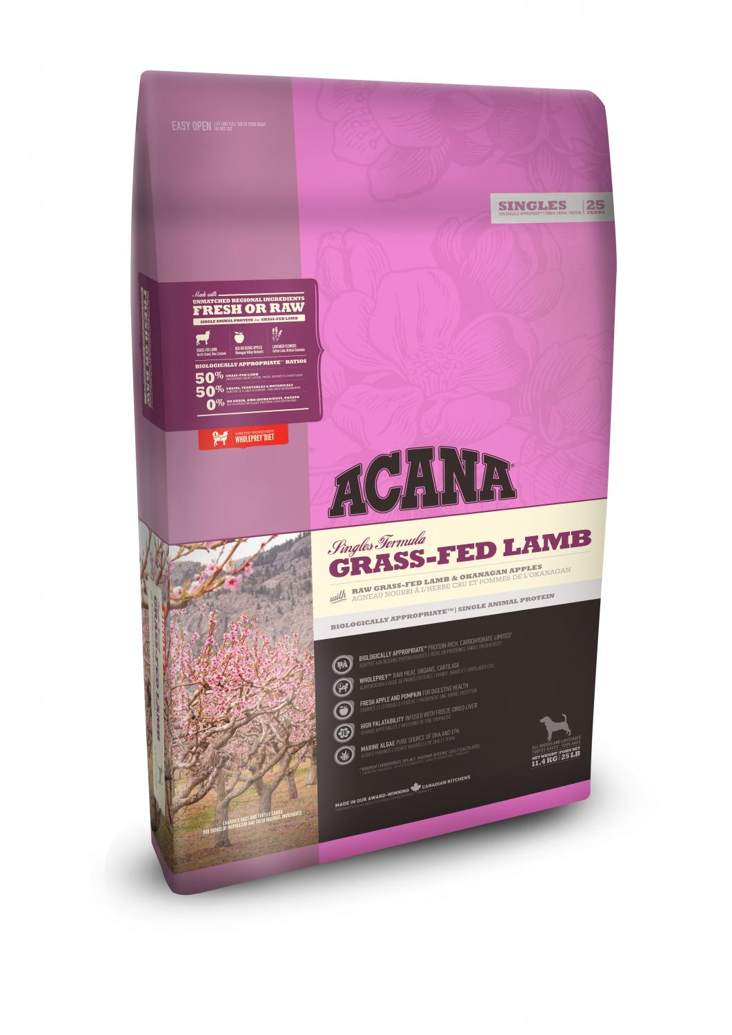 Acana Dog Grass-Fed Lamb 17 kg