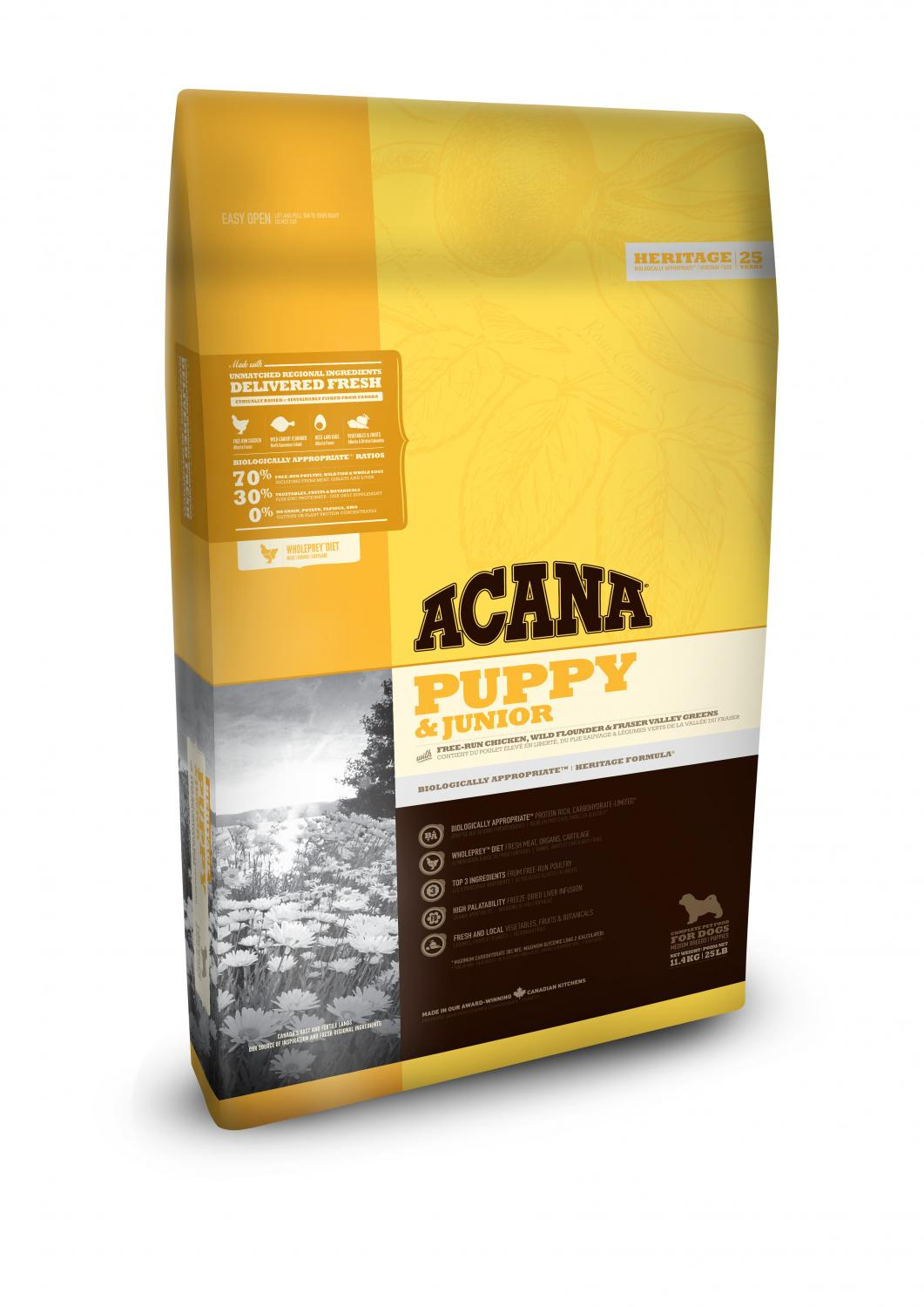 Acana Dog Puppy Junior 11,4 kg