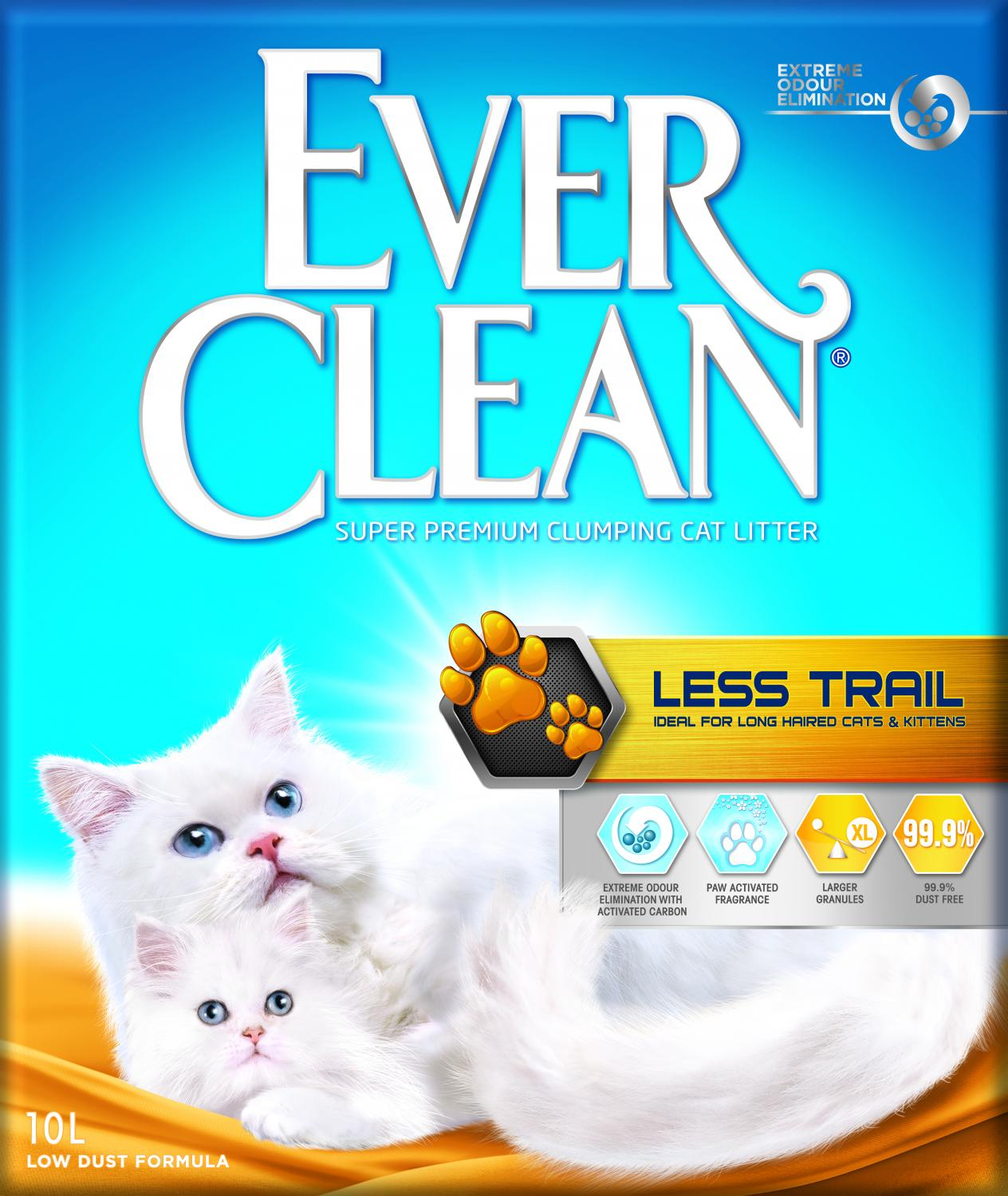 EVER CL Litterfree paws (Less Trail) 10 L