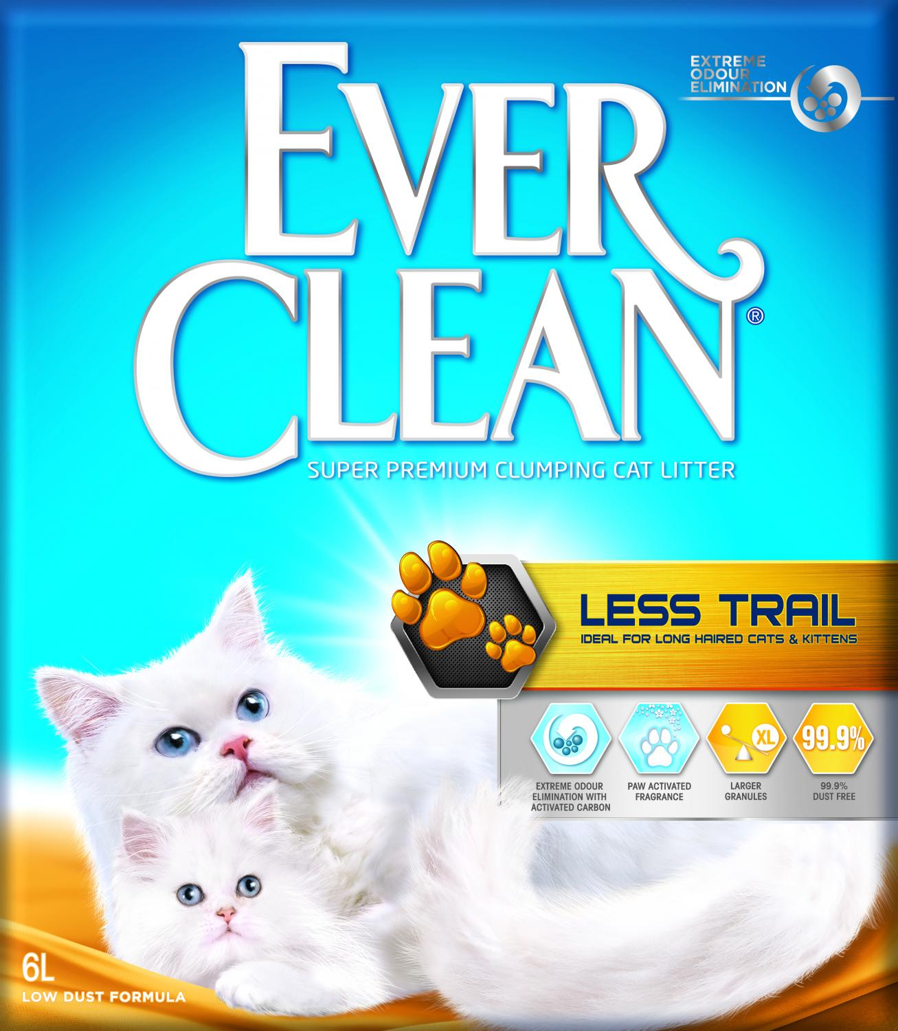 EVER CL Litterfree Paws (Less Trail) 6 L