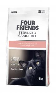 FourFriends Sterilized Grain Free 6kg