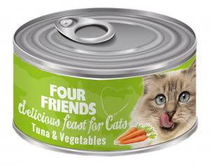FourFriends Burkmat Tuna & Vegetables 85 g