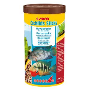 Sera cichlids Sticks 1000ml