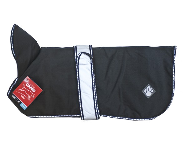 AC 2 in 1 dog coat, Black 30 cm