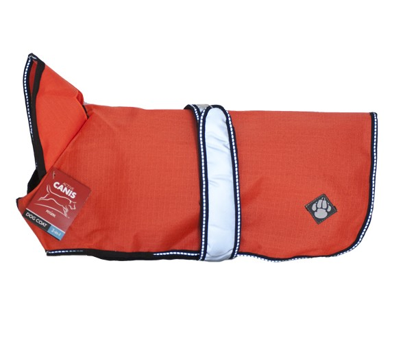 AC 2in1 dog coat, orange 65 cm