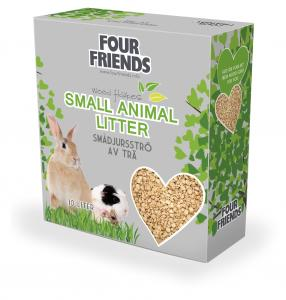 FourFriends Small Animal Liiter 10L