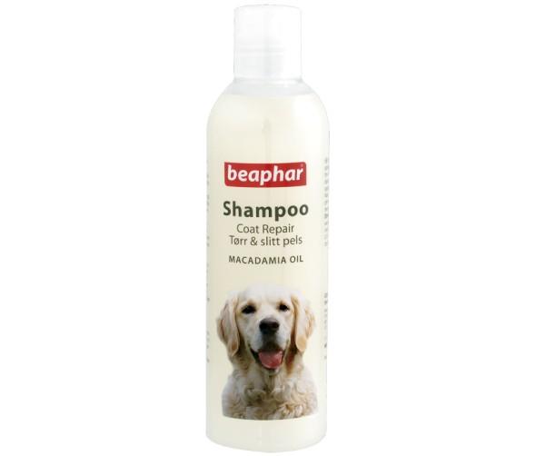 Beaphar Shampo torr och sluten päls hund (Macadami