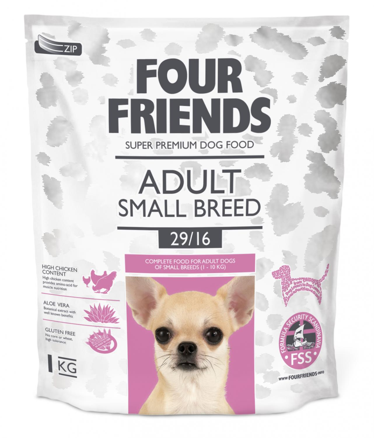 FourFriends Adult Small Breed 1kg