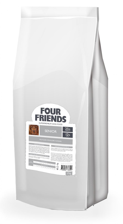 FourFriends Senior 17kg (Beställningsvara för uppfödare)
