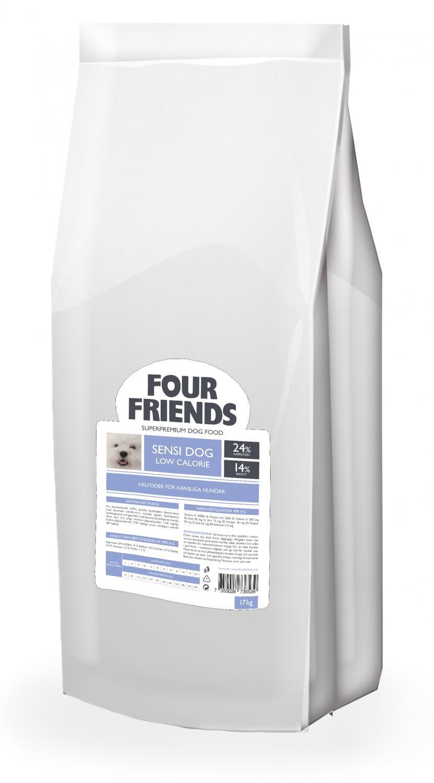 FourFriends Sensi Dog Low 17kg (Beställningsvara för uppfödare)