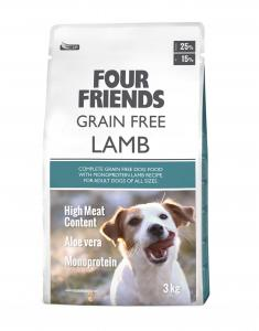 FourFriends Grain Free Lamb 3kg