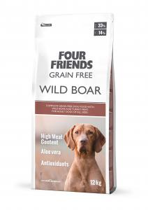 FourFriends Grain Free Wild Boar 12kg