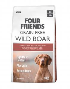 FourFriends Grain Free Wild Boar 3