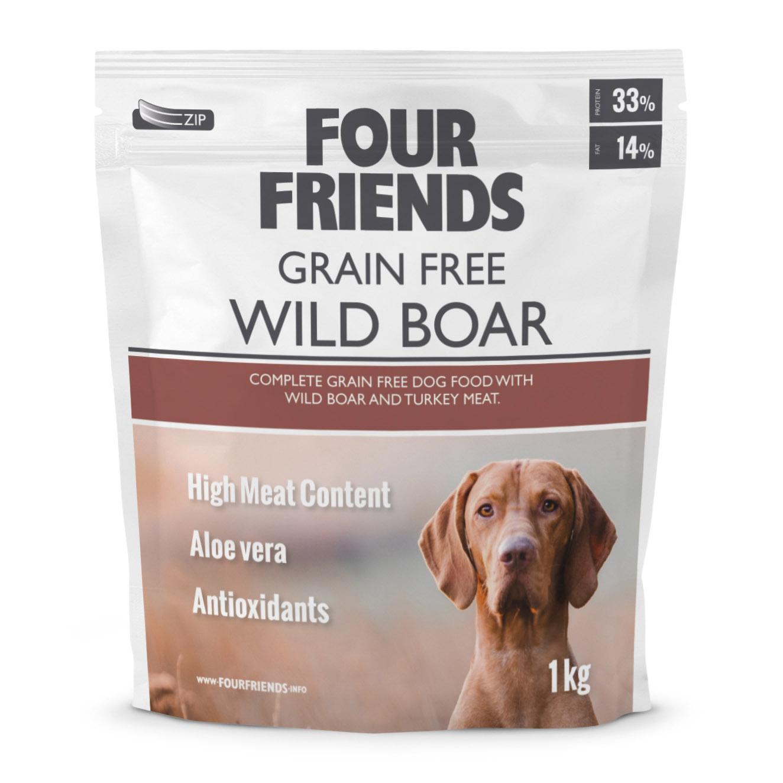 FourFriends Grain Free Wild Boar 1kg