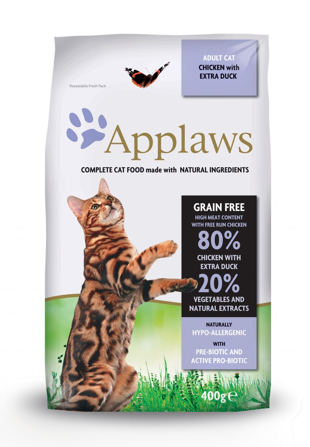 Applaws katt Adult Chicken&Duck 400 g