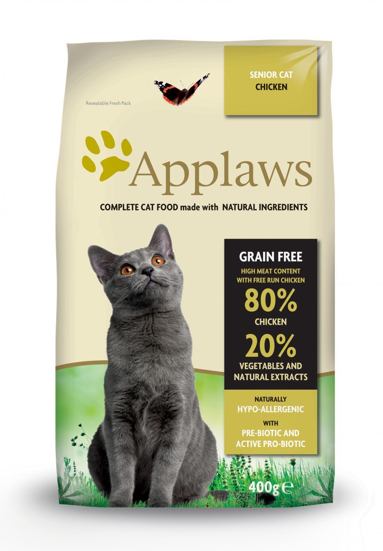 Applaws katt Adult Chicken Senior 400 g