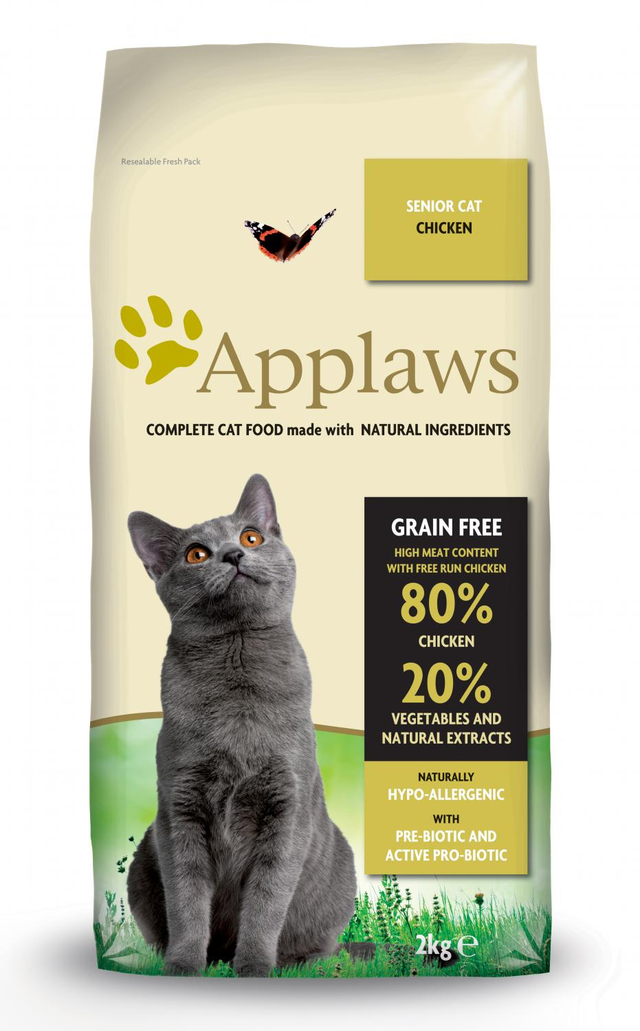 Applaws katt Adult Chicken Senior 2 kg