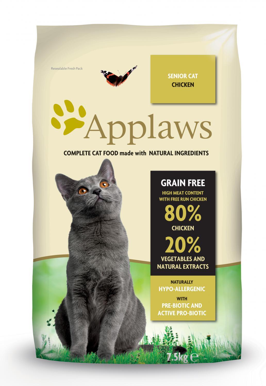 Applaws katt Adult Chicken Senior 7,5 kg
