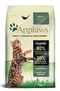 Applaws katt Adult Chicken&Lamb 7,5 kg