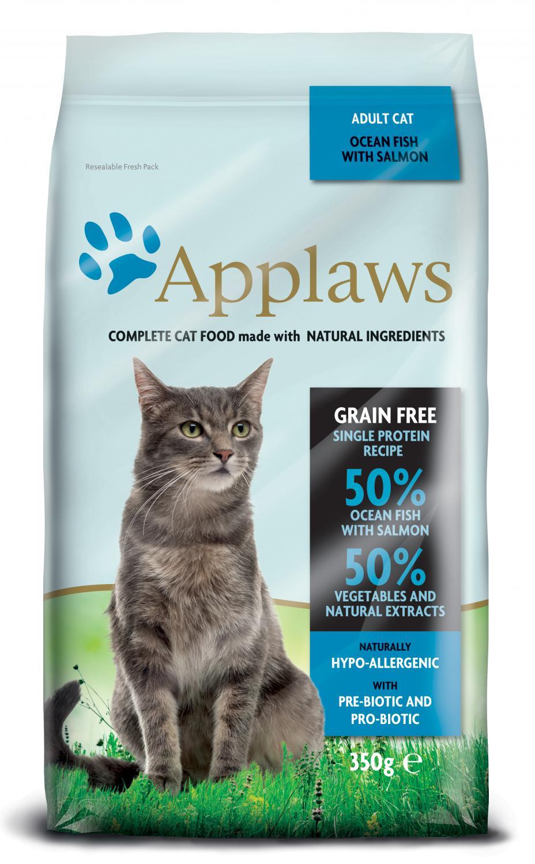 Applaws katt Adult Fish&Salmon 350 g