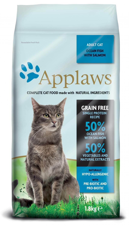 Applaws katt Adult Fish&Salmon 1,8 kg