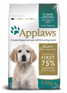 Applaws Hund Puppy Chicken Small&Medium 7,5 kg
