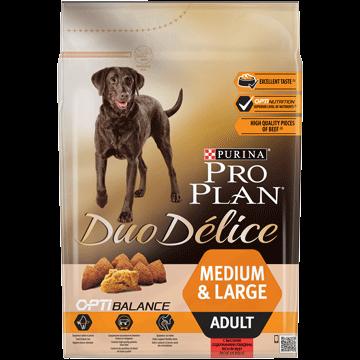 PRO PLAN Adult Duo Delice Beef-OPTIBALANCE 10kg