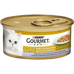 GOURMET GOLD  Kalv&Grönsaker i sås 85g