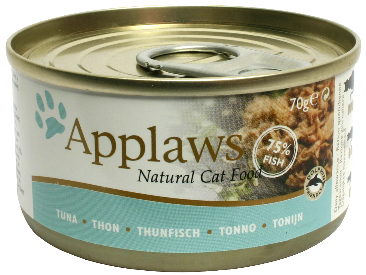Applaws katt konserv Tuna Fillet 70g