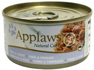 Applaws katt konserv Tuna Fillet&Cheese 70g